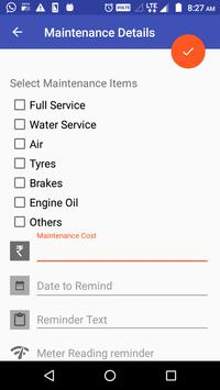 Bike Mileage : Costs, Reports and Reminders screenshot 4