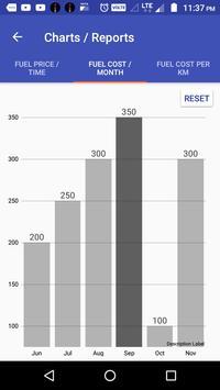 Bike Mileage : Costs, Reports and Reminders screenshot 5