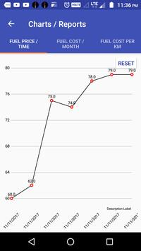 Bike Mileage : Costs, Reports and Reminders screenshot 6