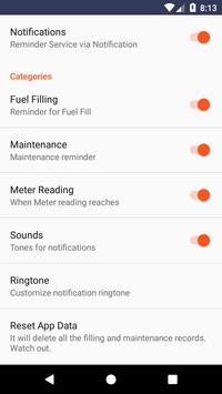 Mileage App screenshot 7