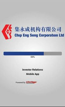 ChipEngSeng Investor Relations poster