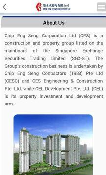 ChipEngSeng Investor Relations apk screenshot