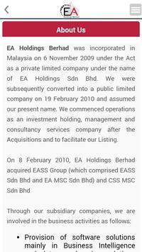 EA Holdings Berhad apk screenshot