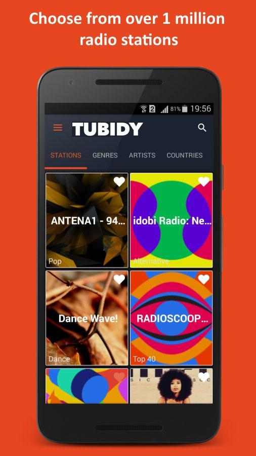 Tubidy - Mobile Radio Music for Android - APK Download