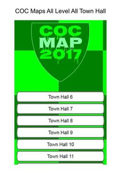 Map For COC 2017 poster