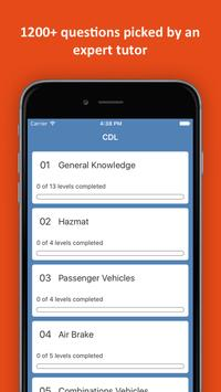CDL Practice Test 2018 Edition poster