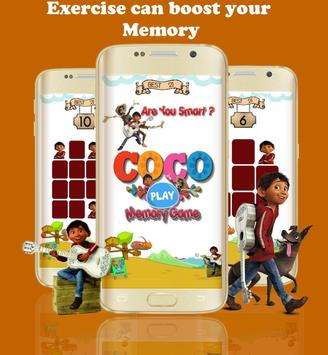 Coco Brain Games for kids poster