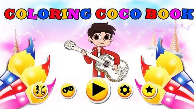 COCO Coloring Book poster