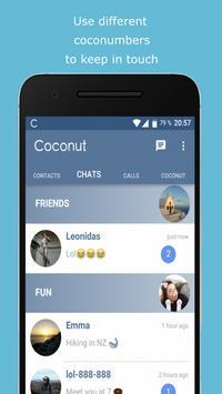 Coconut screenshot 2