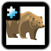 Kids Jigsaw Puzzle: Animal icon