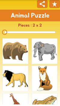Kids Jigsaw Puzzle: Animal poster