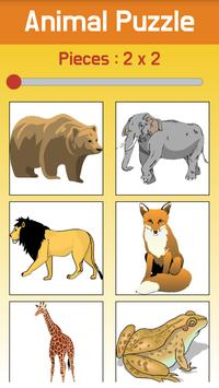 Kids Jigsaw Puzzle: Animal apk screenshot