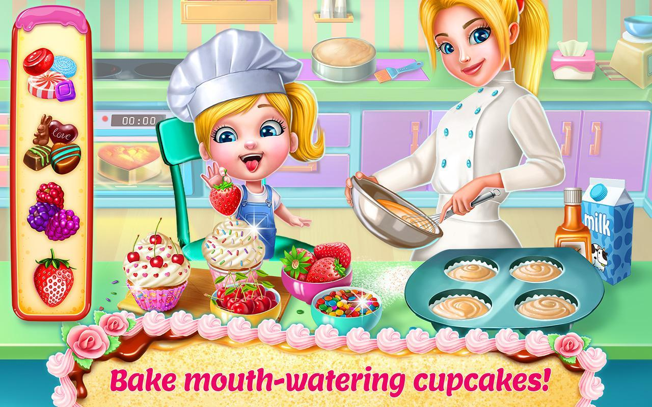 Real Cake Maker 3d Bake Design Decorate For Android Apk Download