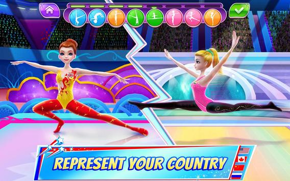 Gymnastics Superstar - Spin your way to gold! الملصق