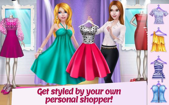 Shopping Mall Girl - Dress Up & Style Game poster