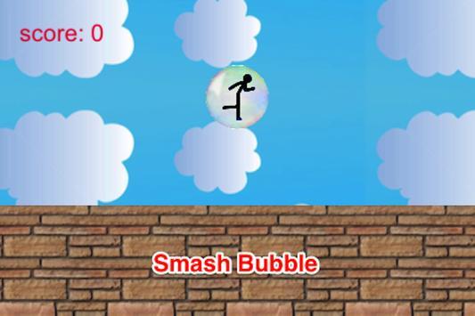 Bubble Smash: Stickman Runner screenshot 7