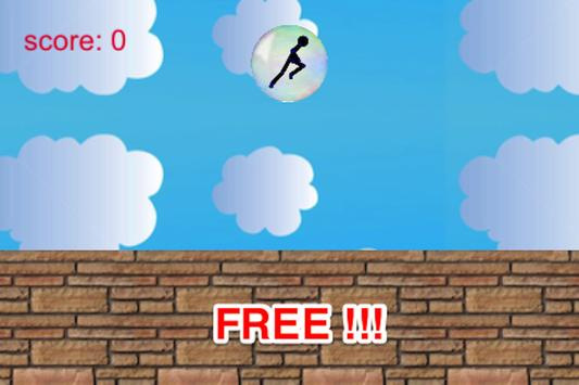 Bubble Smash: Stickman Runner screenshot 2