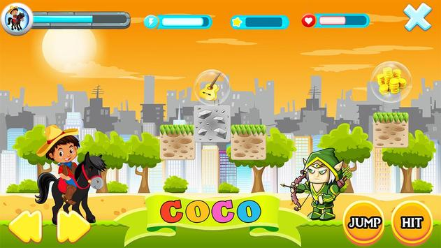 COCO Super Boy poster
