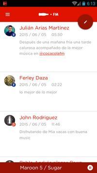 Coca-Cola FM Colombia screenshot 4