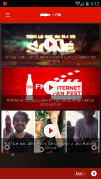Coca-Cola FM Colombia screenshot 3