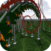 Extreme Roller Coaster Ride 3D icon