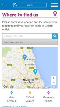 SH Northumbria NHS screenshot 1