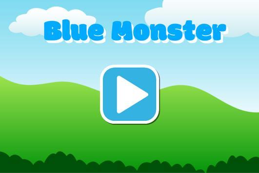 Blue Monster poster