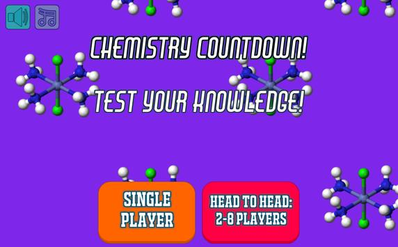 Chemistry Countdown poster