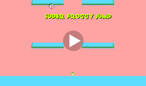 Super Froggy Jump poster