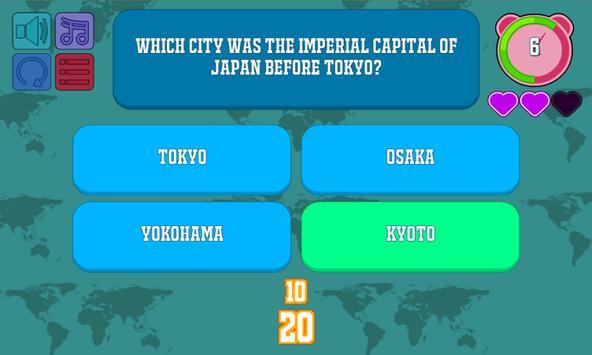 The World: A Quiz apk screenshot