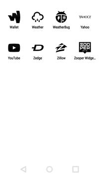 Tap Black - Icon Pack apk screenshot
