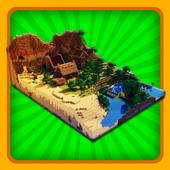 Adventure maps for Minecraft icon