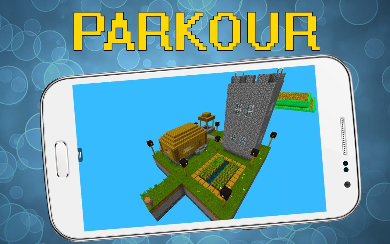 Parkour Maps For Minecraft APKDownload Kostenlos Unterhaltung APP - Kostenlose maps fur minecraft