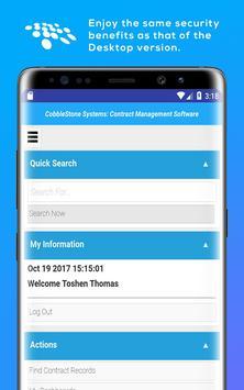 CobbleStone Contract Software apk screenshot