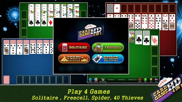 Solitaire Card Games HD apk screenshot