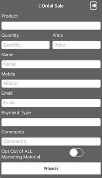 Sales apk screenshot