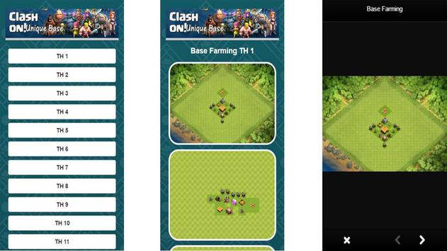 Base COC TH 1-11 apk screenshot
