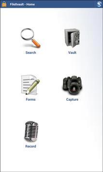 FileXVault Mobile apk screenshot