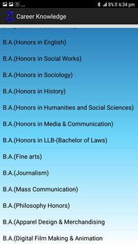 Career Knowledge screenshot 4