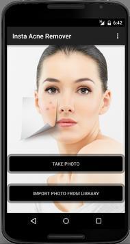 Face Acne Remover Photo Editor App poster