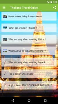 Thailand Travel Guide poster