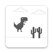 Dino Jumping Chrome icon