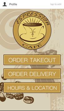 Espression Cafe poster