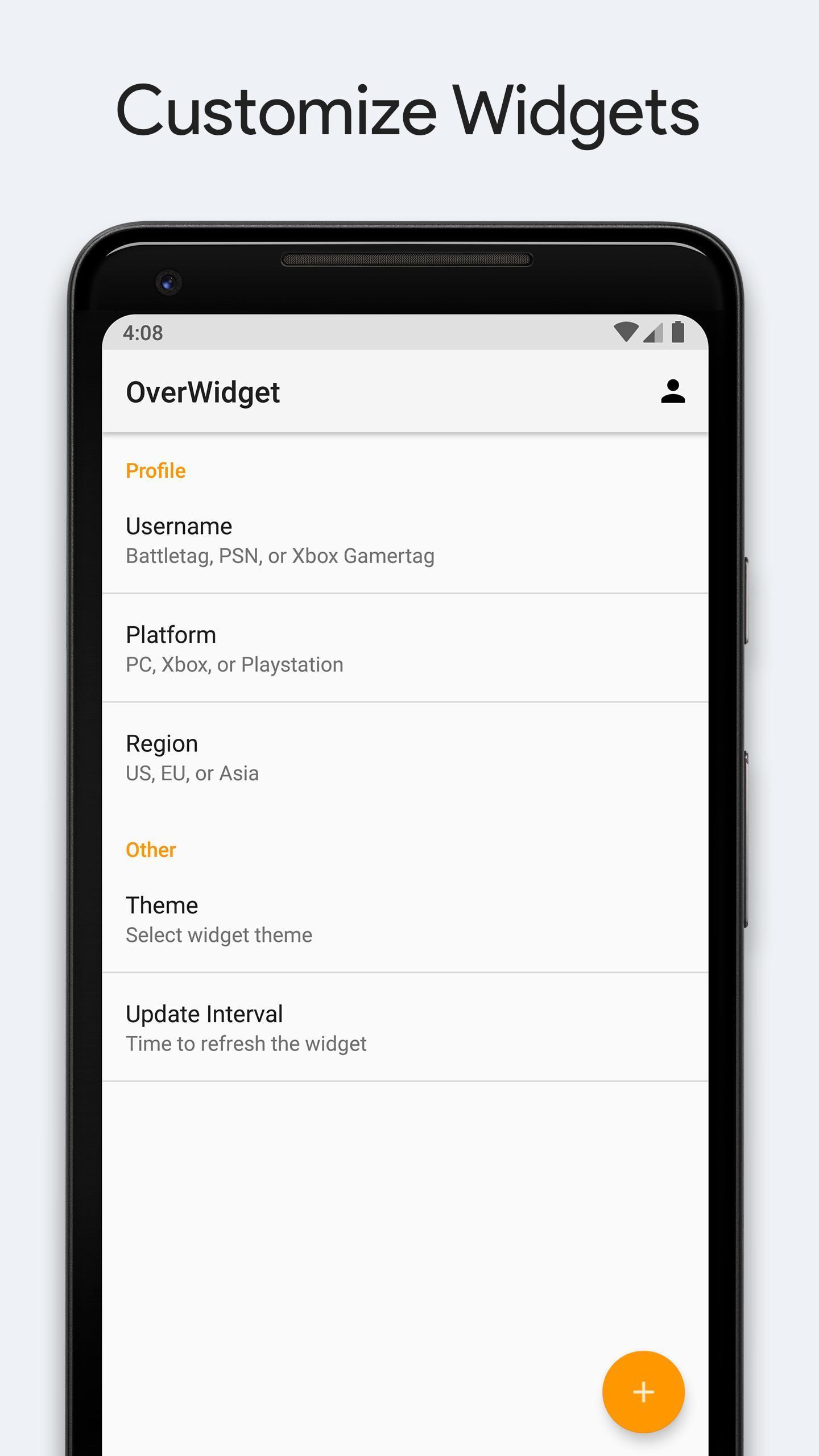 OverWidget - Overwatch Stats and Widget for Android - APK Download