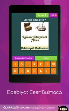 Edebiyat Eser Bulmaca screenshot 10