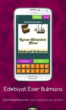Edebiyat Eser Bulmaca screenshot 1