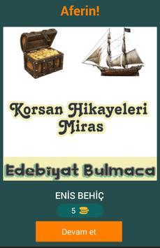 Edebiyat Eser Bulmaca screenshot 4