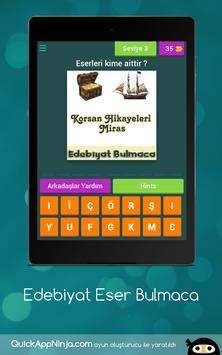 Edebiyat Eser Bulmaca screenshot 6