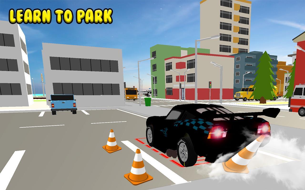 Steering Wheel Car Parking Games