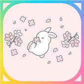 토끼 테마 아이콘
